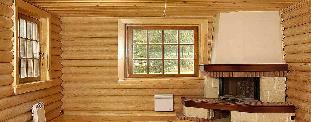 Проводим внутреннюю и наружную отделку деревянных домов в Рязани и области