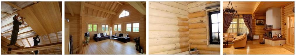 Отделка деревянного дома в Рязани и области