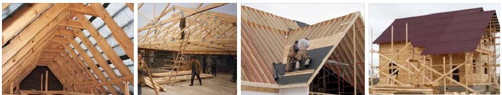 Строительство крыши частного дома в Рязани и области